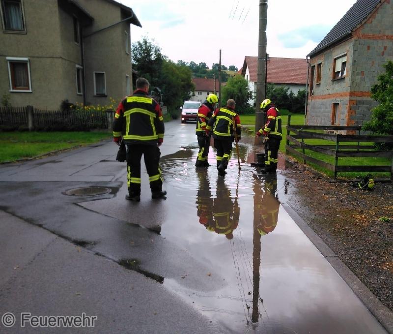 Hilfeleistung Überschwemmung